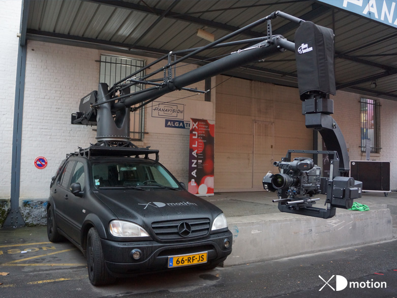 Russian Arm Aerial Filming And Multi Dimensional