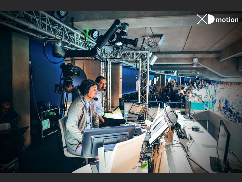 FTV Studio at the Olympic Stadium