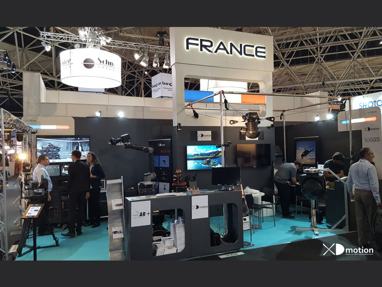 IBC 2016 XD motion, GSS, Arplus stand