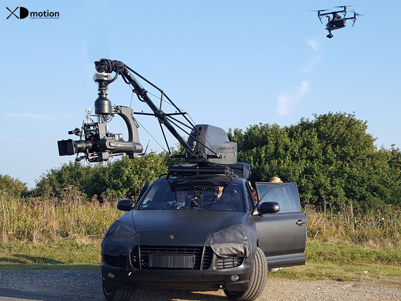 Russian Arm Mini Aerial Filming And Multi Dimensional Travelling