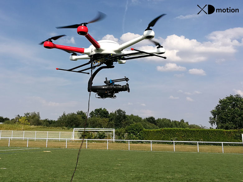 Tethered Drone - Aerial filming and multi-dimensional