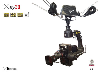 Cablecam 4K Augmented Reality