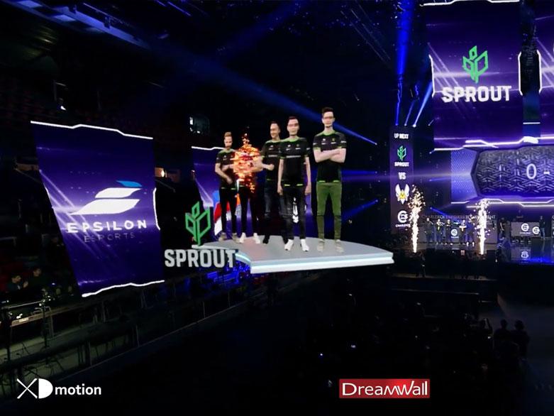 X fly 3D E-Sports-E-games