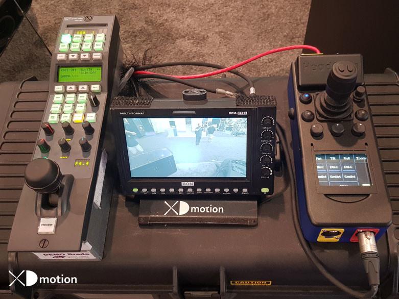 Tethered Drone Controls NAB 2019