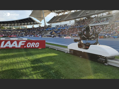 Hi Speed track Xtrack IAAF Diamond League Paris Meeting 2019