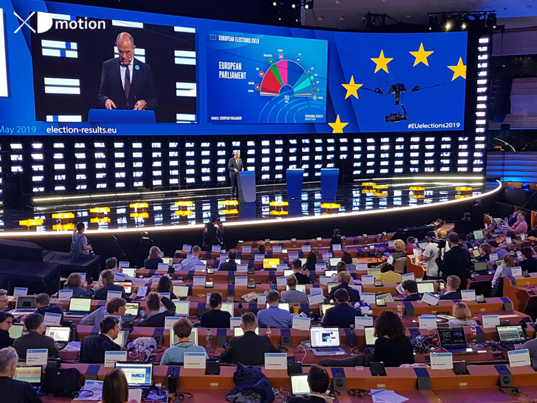 X fly 3D European Elections 2019