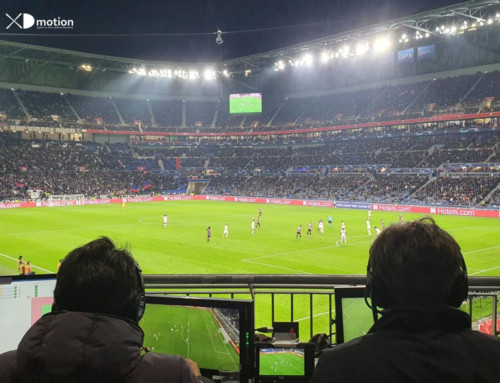 X fly 3D for UCL Lyon – Benfica